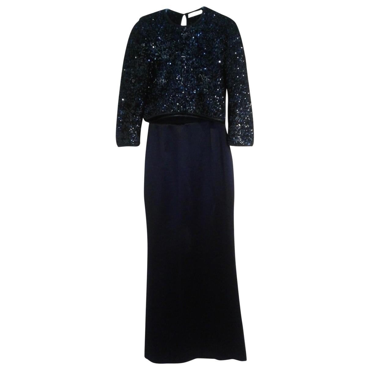 Dior \N Kleid in  Marine Mit Pailletten