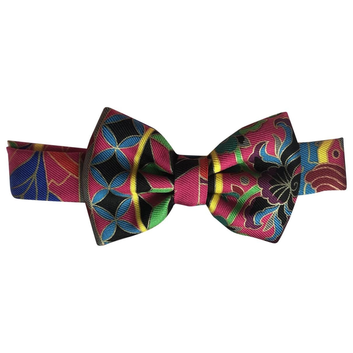 Corbata Noeud Papillon de Seda Hermes