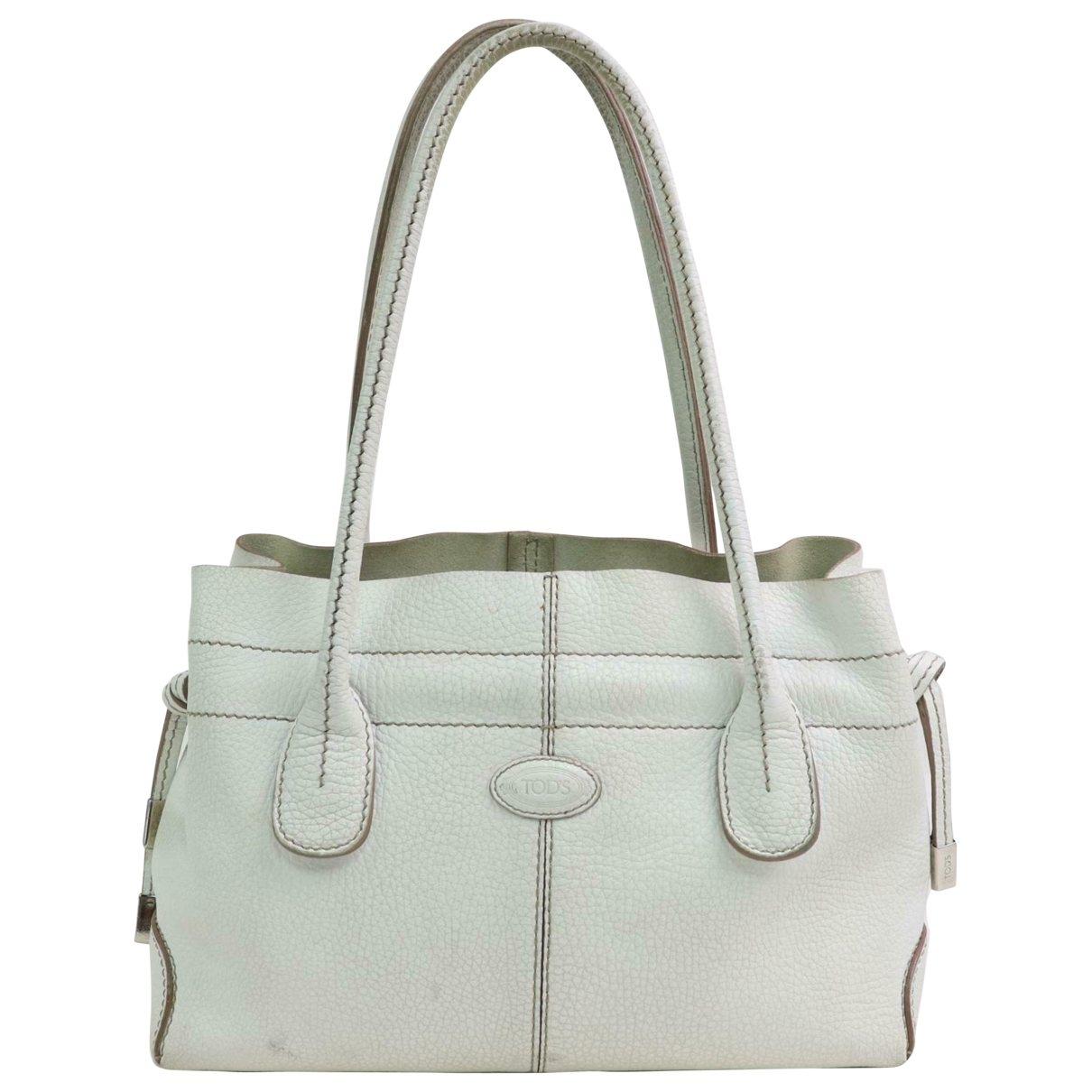 Tod's \N White Fur handbag for Women \N