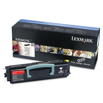 Lexmark X203A11G cartouche de toner du programme retour originale noire