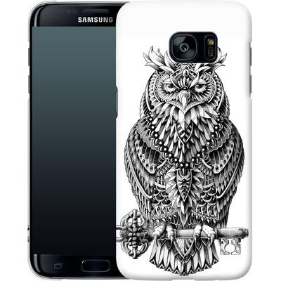 Samsung Galaxy S7 Edge Smartphone Huelle - Great Horned Owl von BIOWORKZ