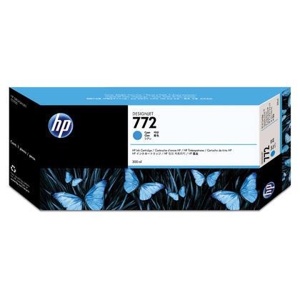 HP 772 CN636A cartouche d'encre originale cyan extra haute capacité