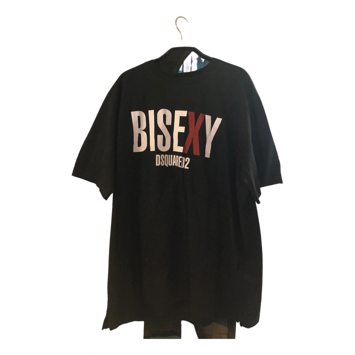 Dsquared2 \N Black Cotton T-shirts for Men XL International