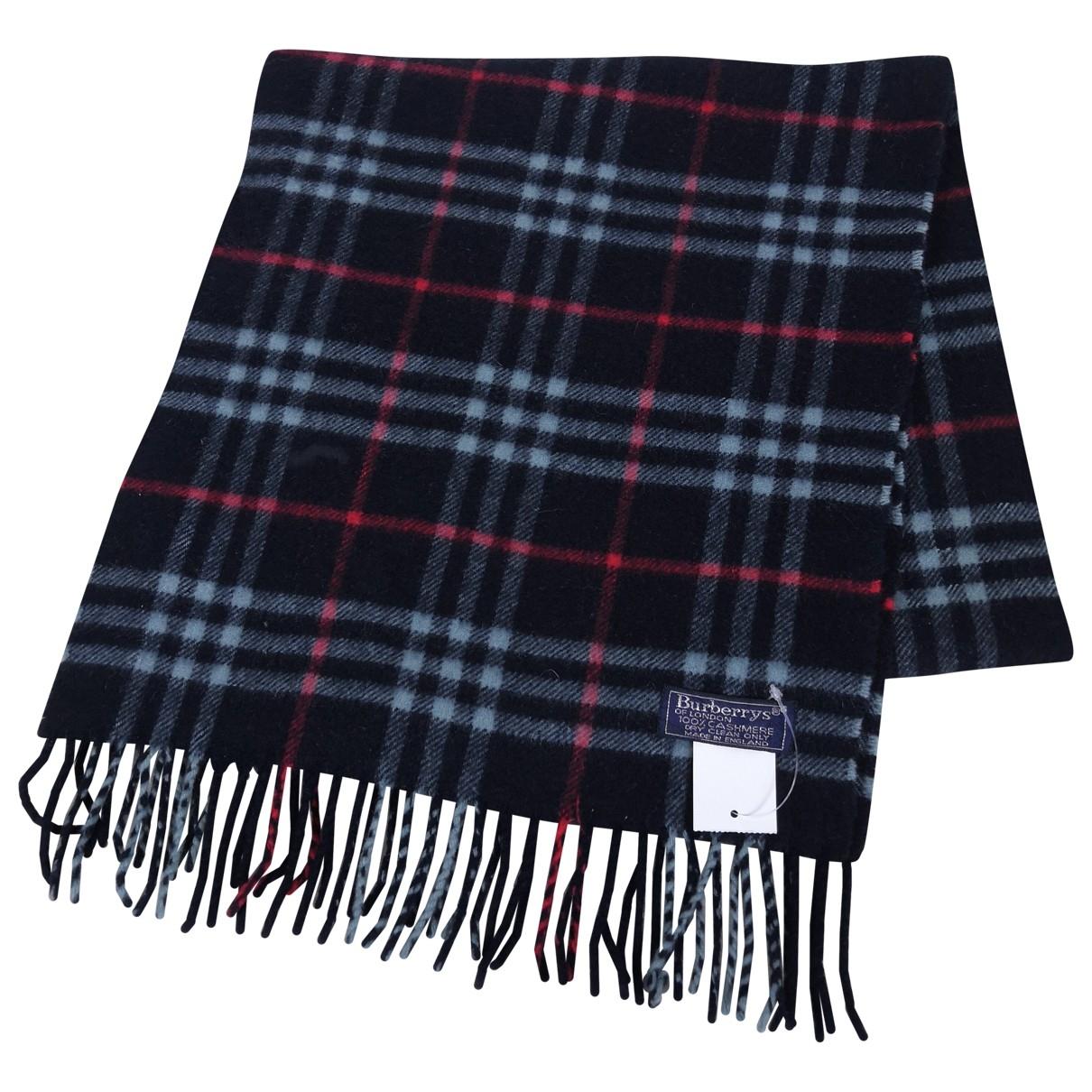 Burberry \N Cashmere scarf & pocket squares for Men \N