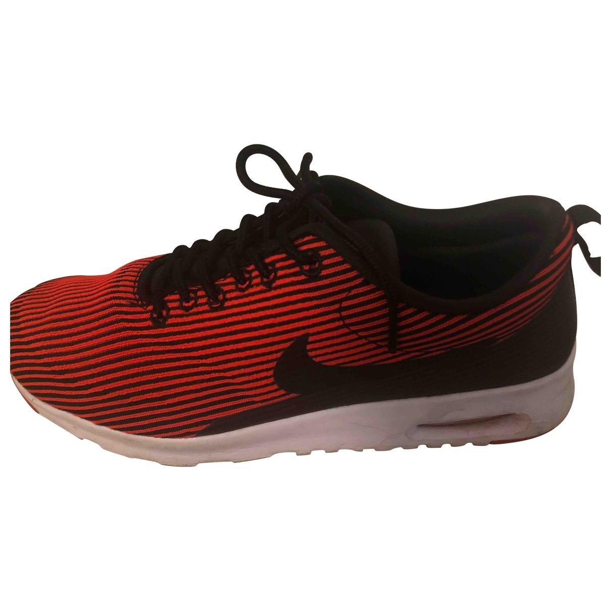 Nike - Baskets Air Max  pour femme - rouge