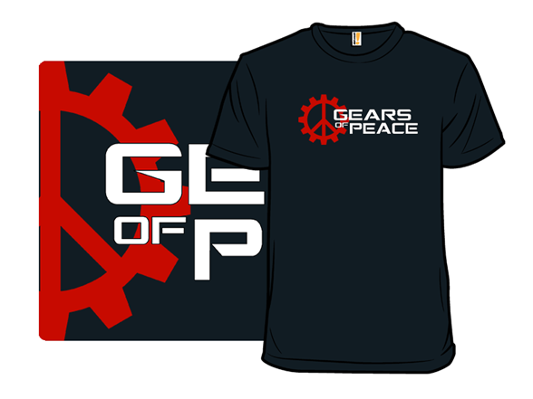 Gears Of Peace T Shirt