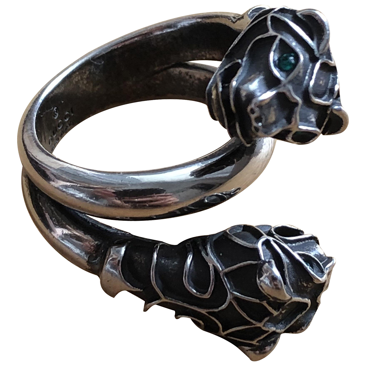Gucci \N Ring Silber