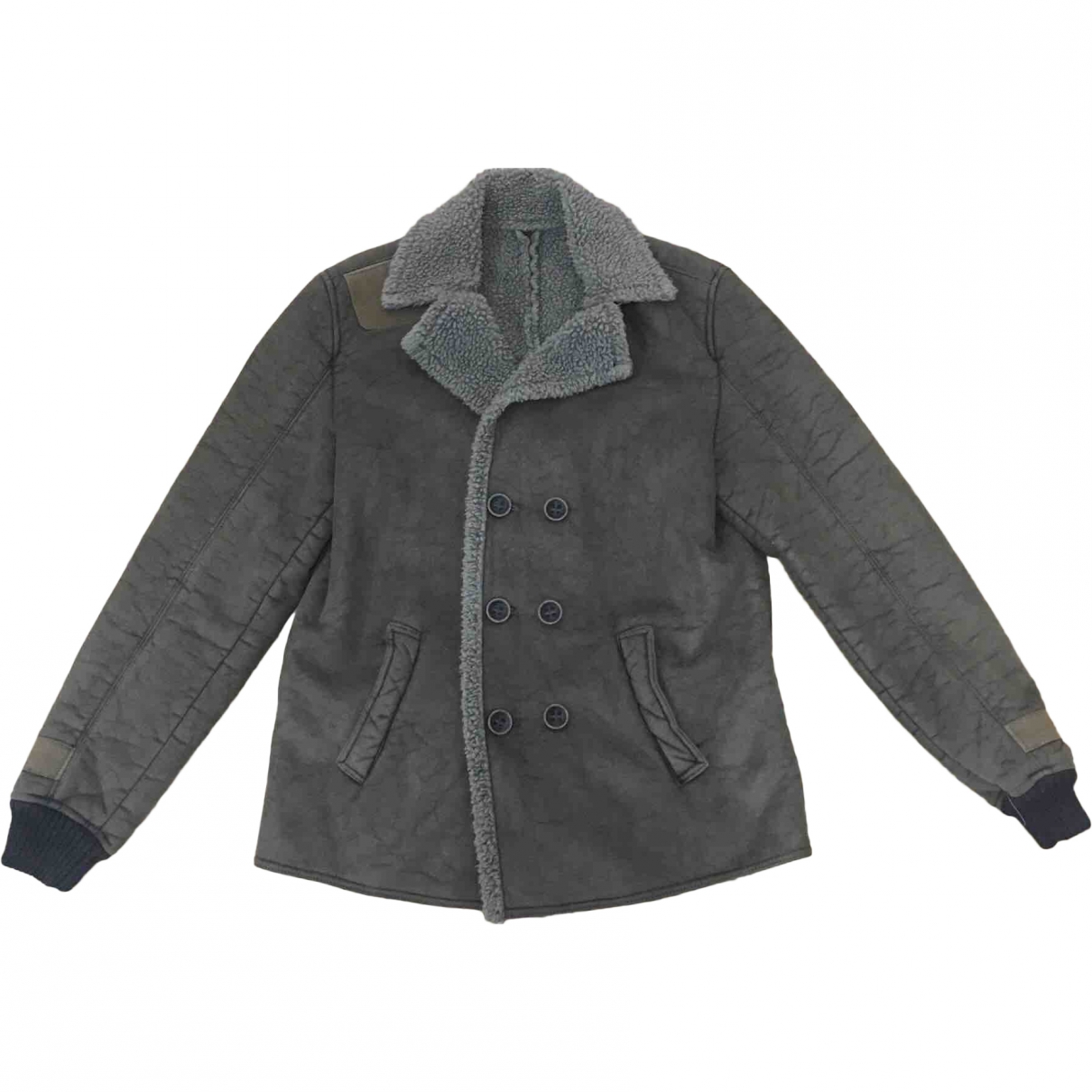 Non Signé / Unsigned \N Green coat  for Men 52 IT