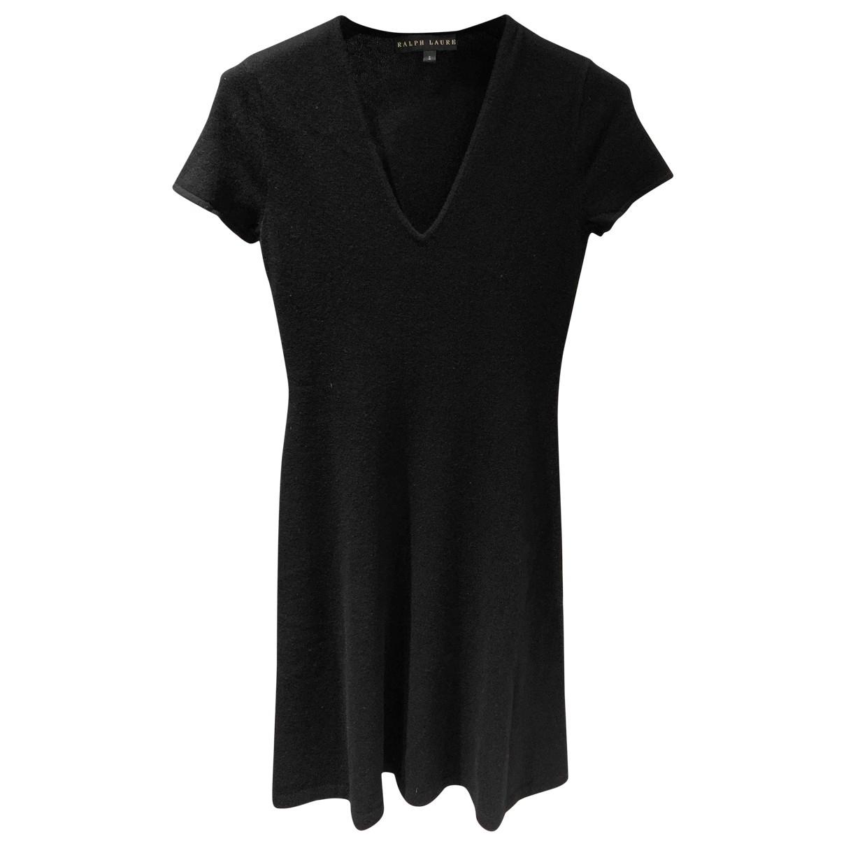 Ralph Lauren - Robe   pour femme en cachemire - noir