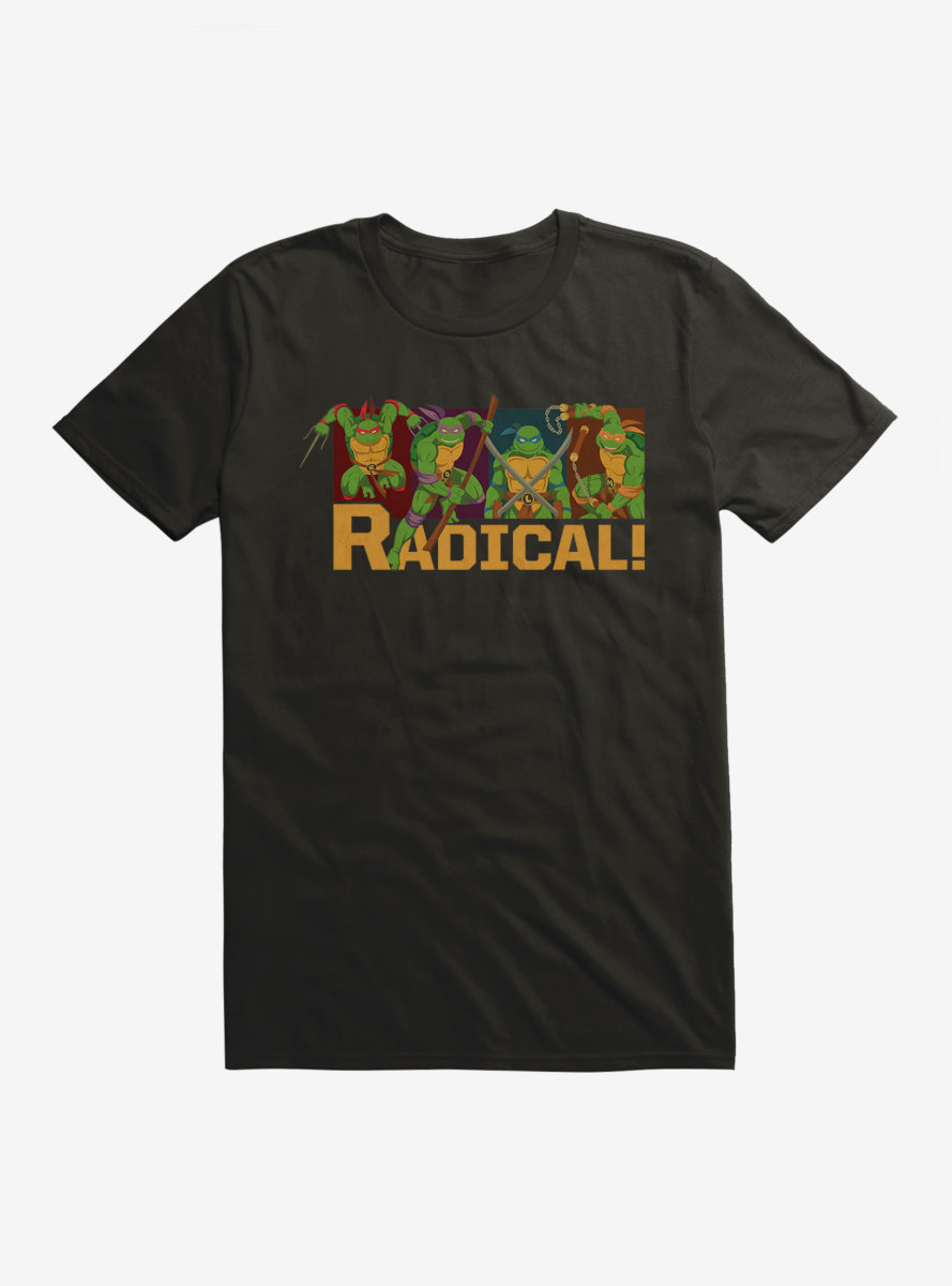 Teenage Mutant Ninja Turtles Radical Group T-Shirt