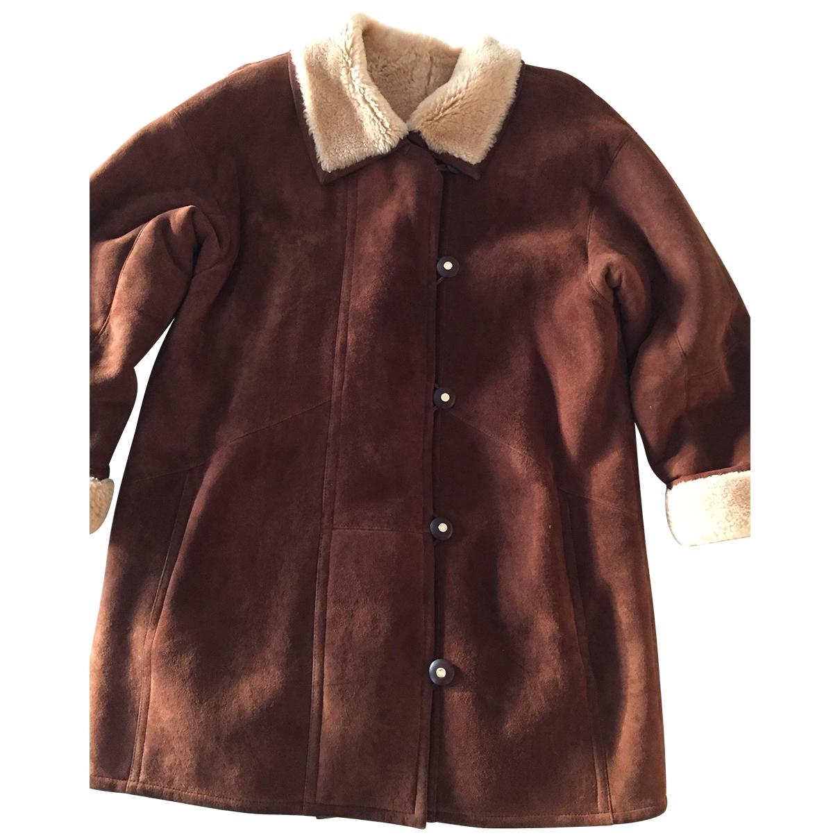 Nina Ricci \N Camel Fur coat for Women 38 FR