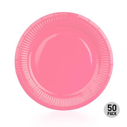 Assiette en papier jetable pour les fournitures de fête d'anniversaire, 9