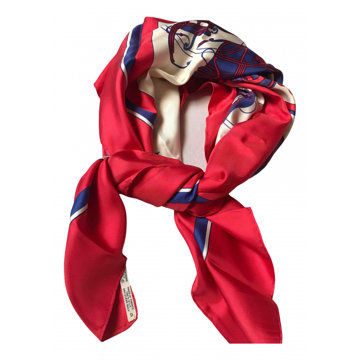 Hermès Carré 90 Red Silk Silk handkerchief for Women \N