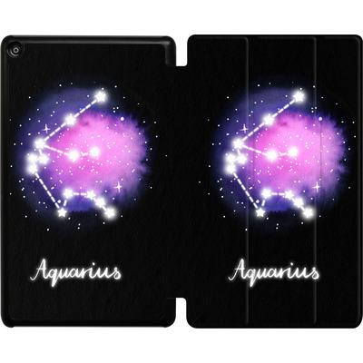 Amazon Fire HD 8 (2018) Tablet Smart Case - AQUARIUS von Becky Starsmore