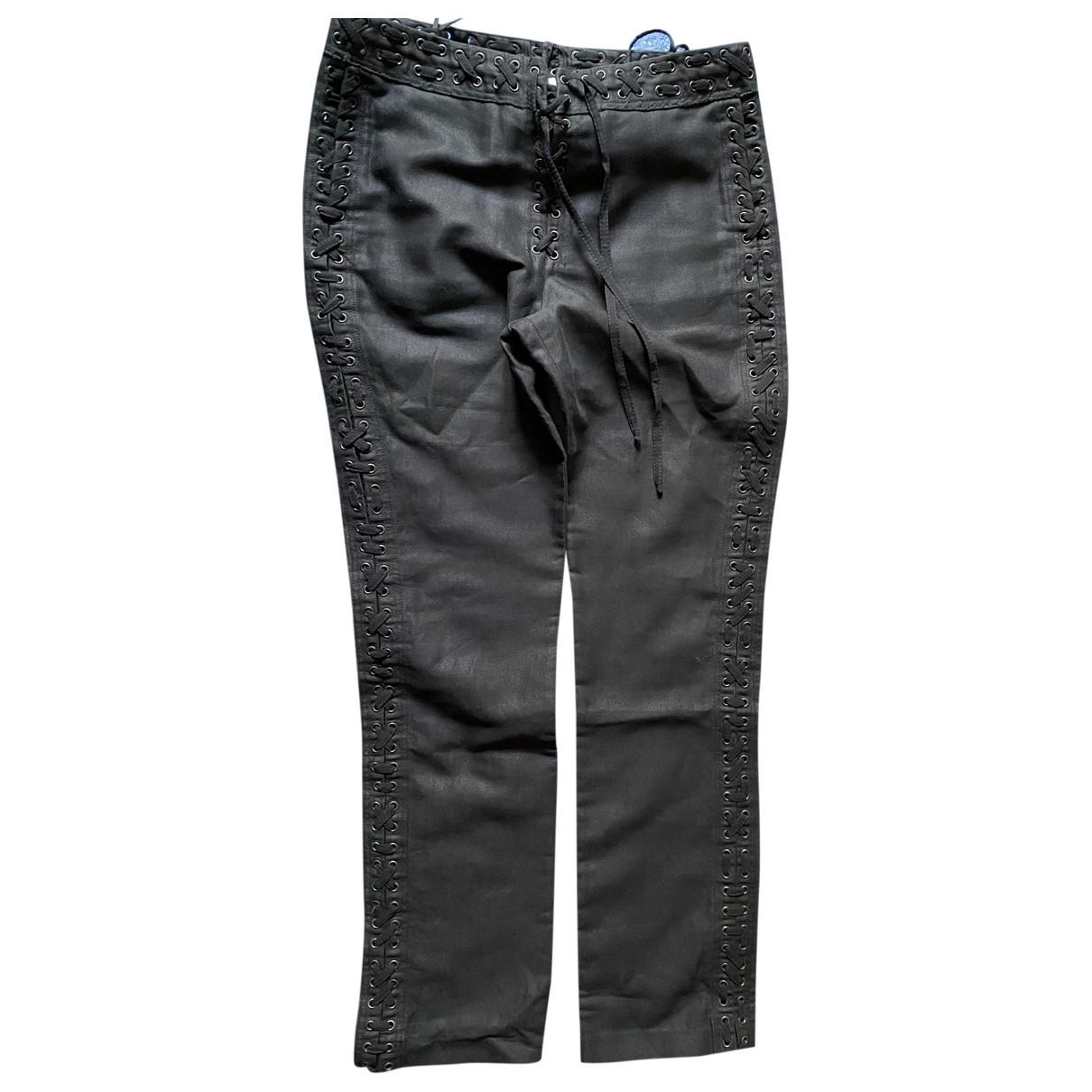 Pantalon recto Saint Laurent