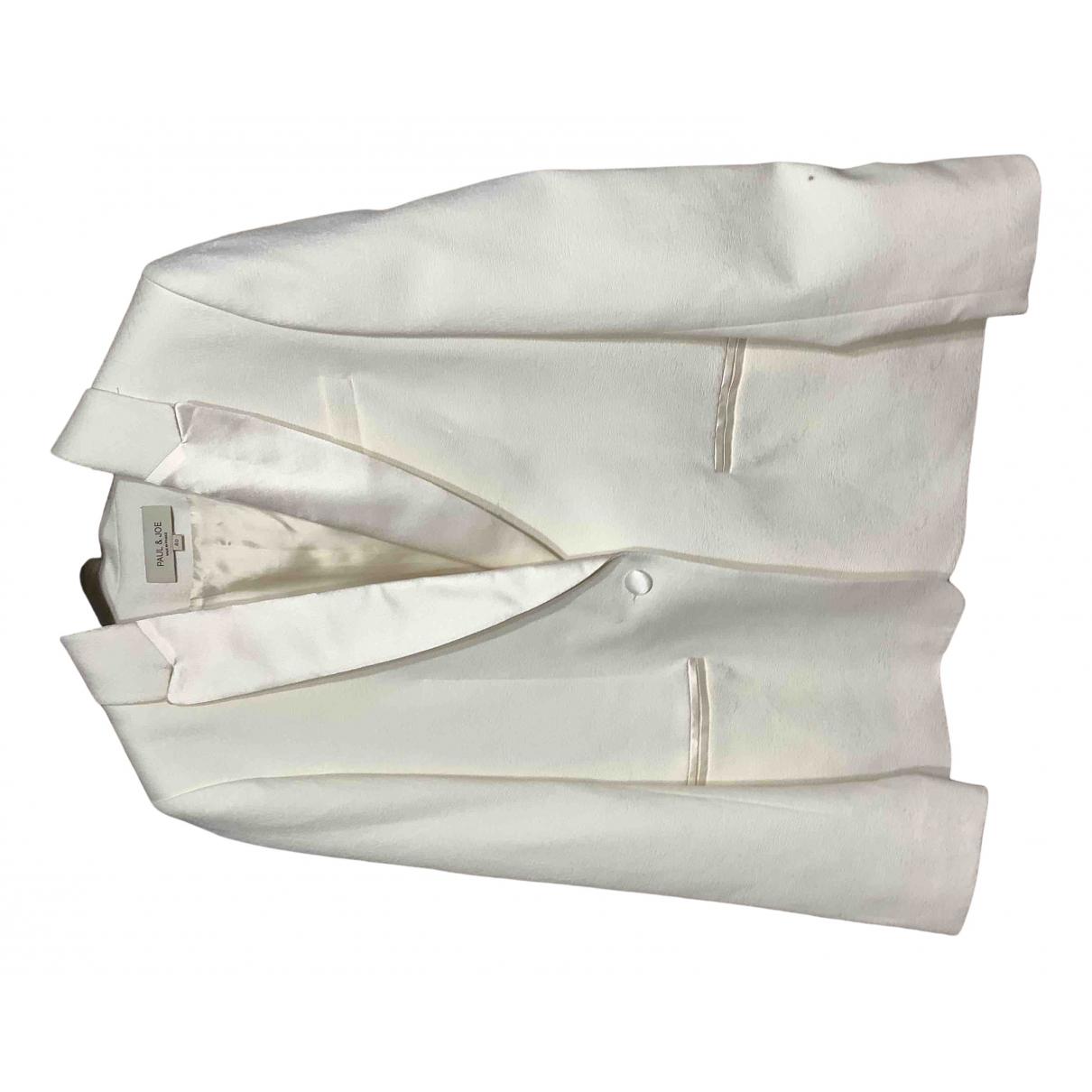 Paul & Joe - Veste   pour femme en coton - blanc