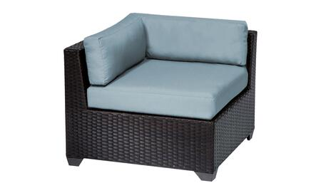 Belle Collection TKC010b-CS-SPA Corner Chair - Wheat and Spa