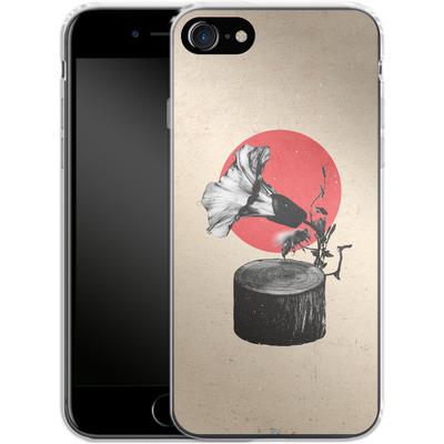 Apple iPhone 8 Silikon Handyhuelle - Gramophone von Ali Gulec