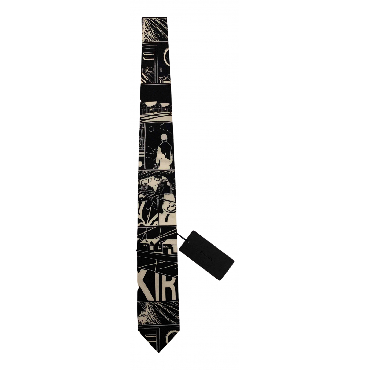 Prada \N Krawatten in  Bunt Seide