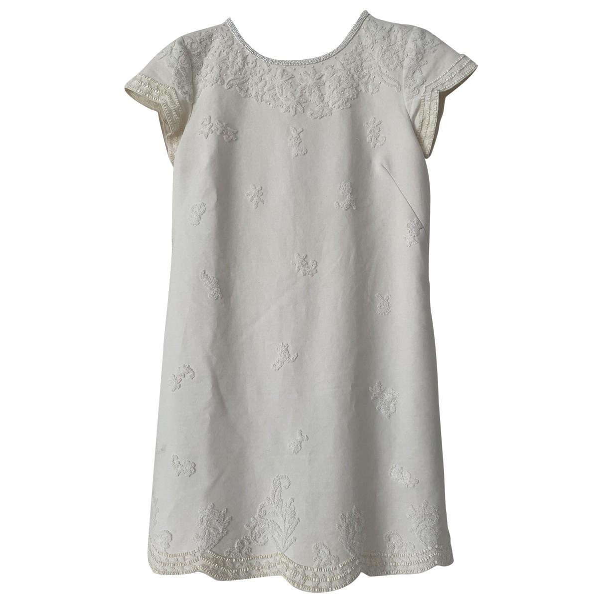Twin Set \N Kleid in  Beige Baumwolle