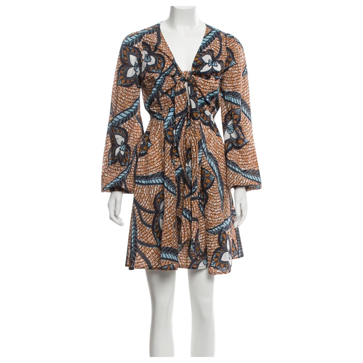 Figue \N Kleid in  Braun Baumwolle