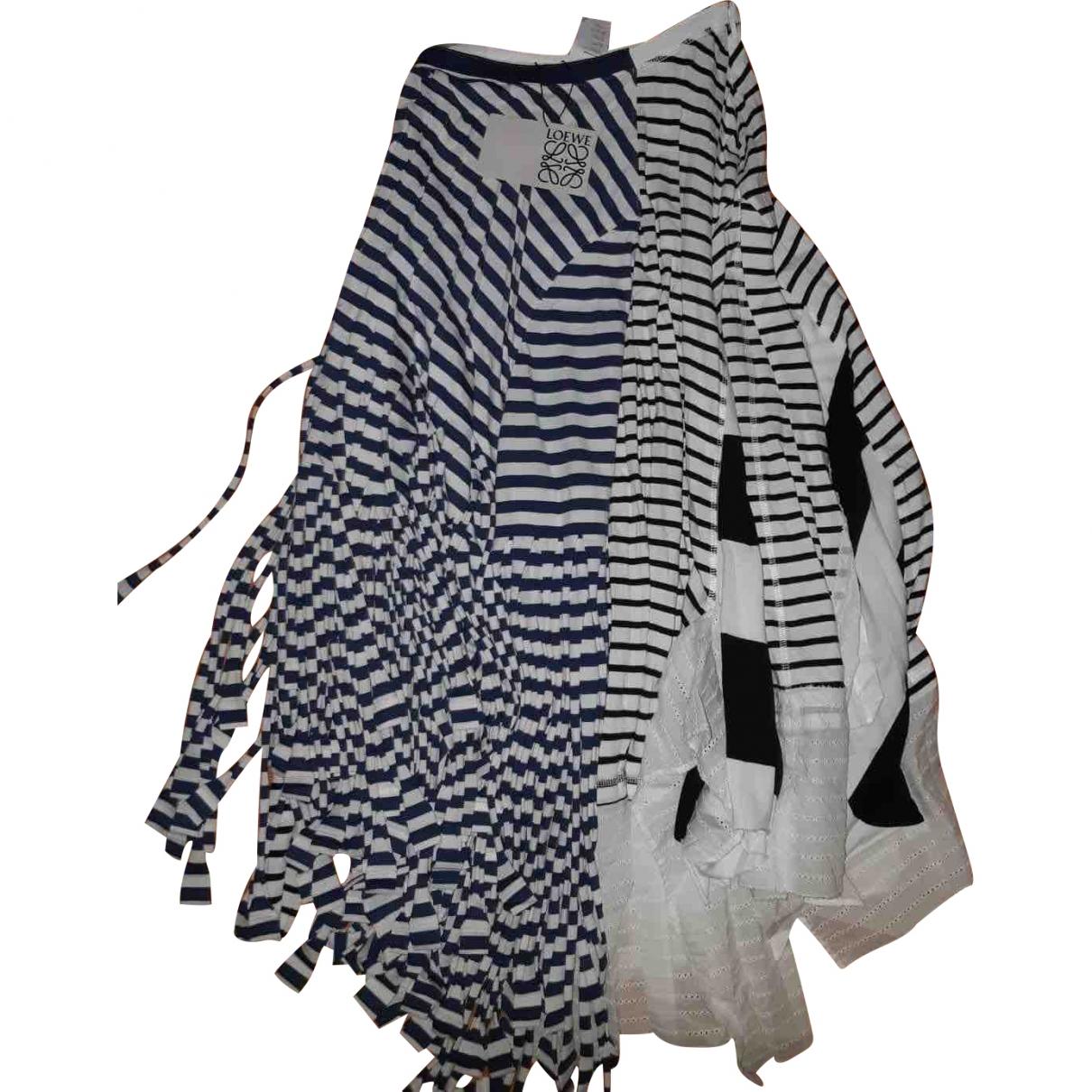 Loewe \N Multicolour Cotton skirt for Women S International