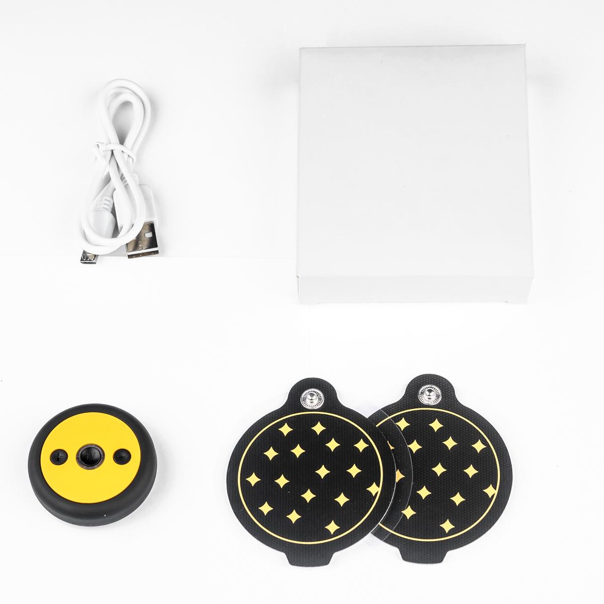 Mini Portable Electric Massage Pad Neck Shoulder Massager