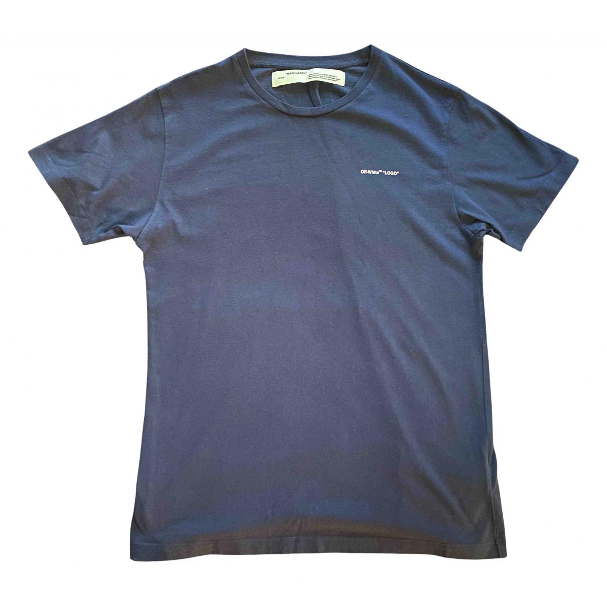 Off-white - Tee shirts   pour homme en coton - bleu