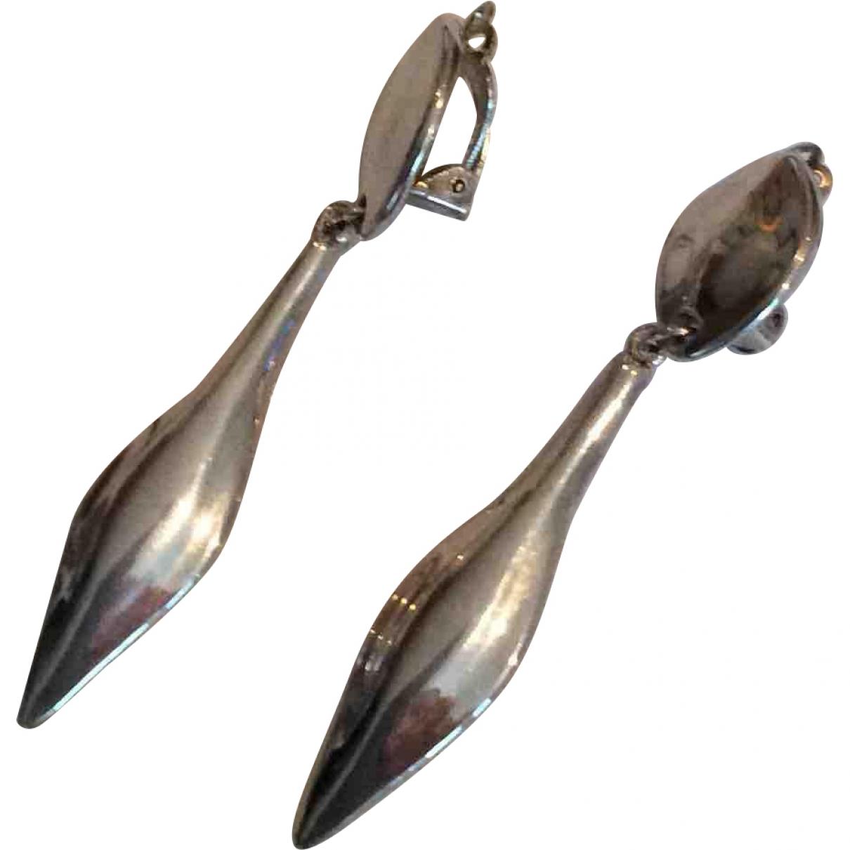 Add - Boucles doreilles   pour femme en argent - argente