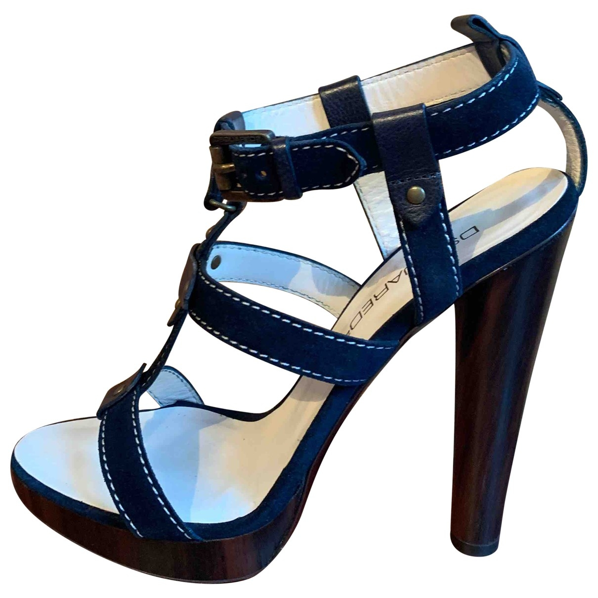 Dsquared2 \N Sandalen in  Blau Fell