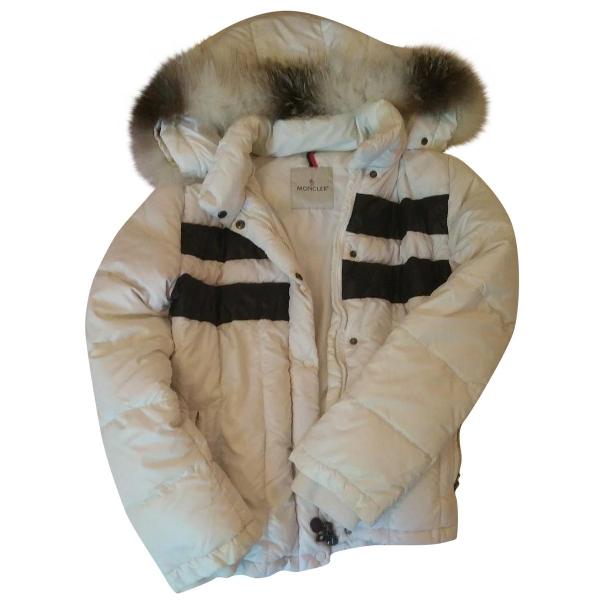 Cazadora Fur Hood Moncler