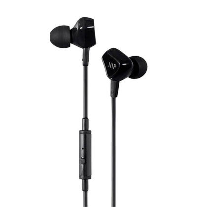 Triple Driver Earbuds Headphones with In-Line Mic and 1-Button Control - Monoprice®