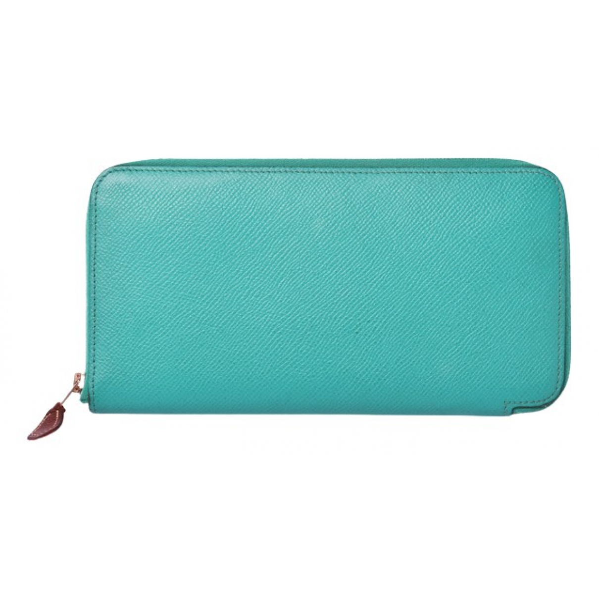 Hermès Azap Turquoise Leather wallet for Women N