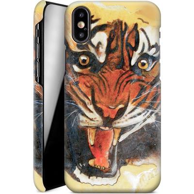 Apple iPhone XS Smartphone Huelle - Tiger von Kaitlyn Parker