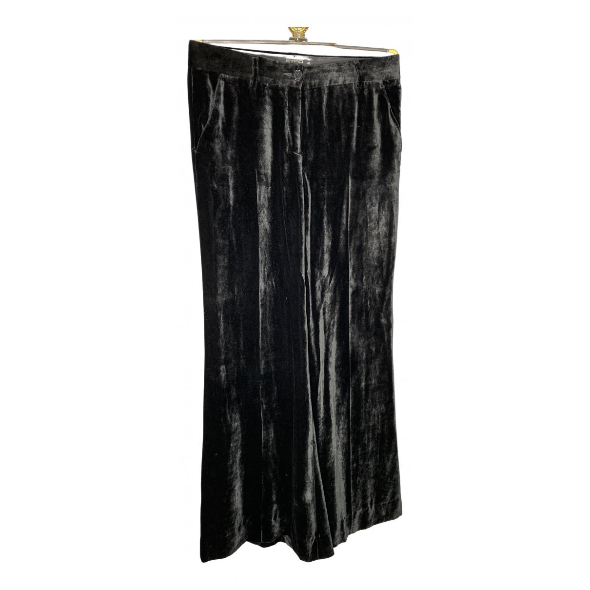 Pantalon largo de Seda Etro