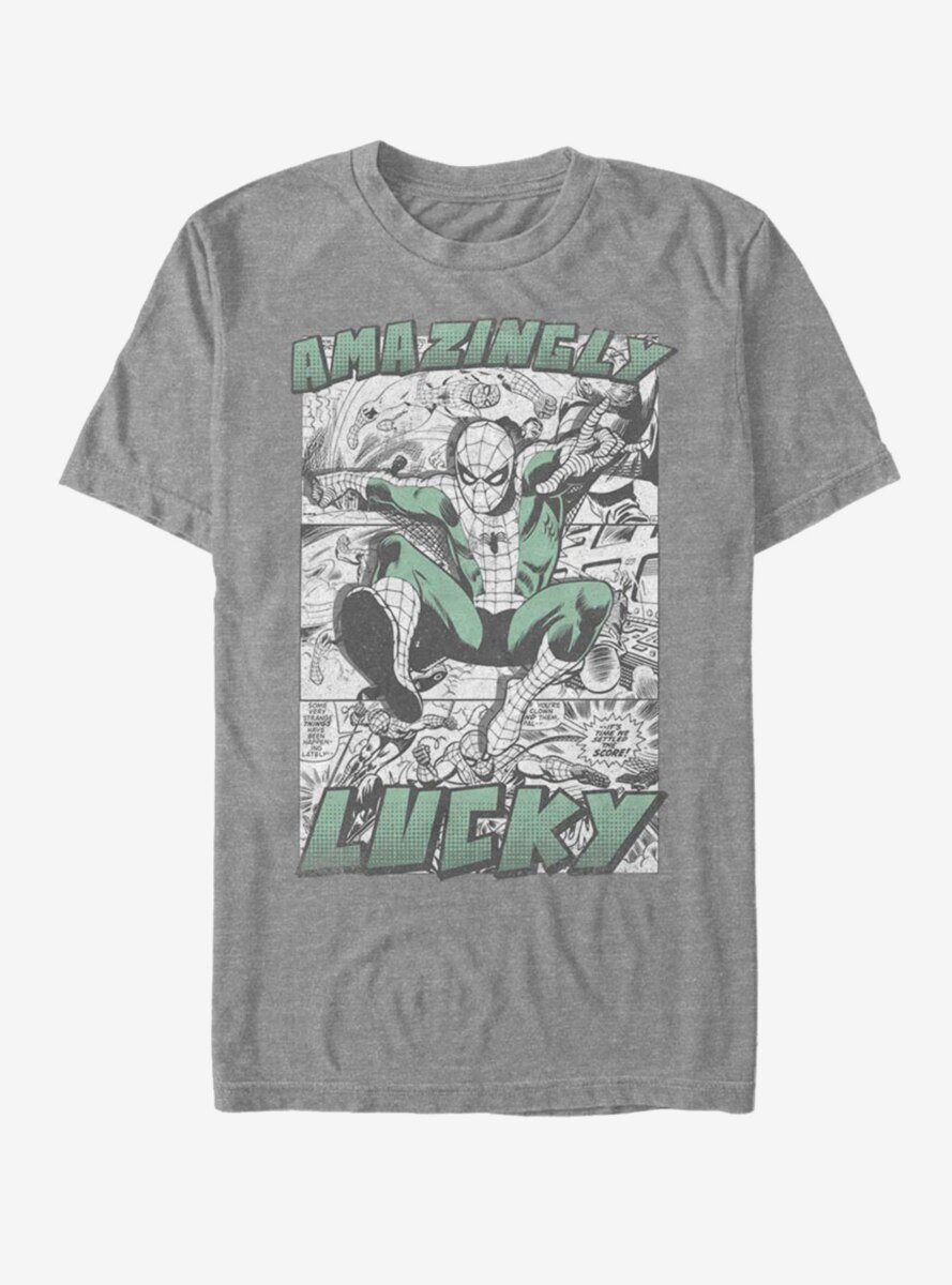 Marvel Spider-Man Amazingly Lucky T-Shirt
