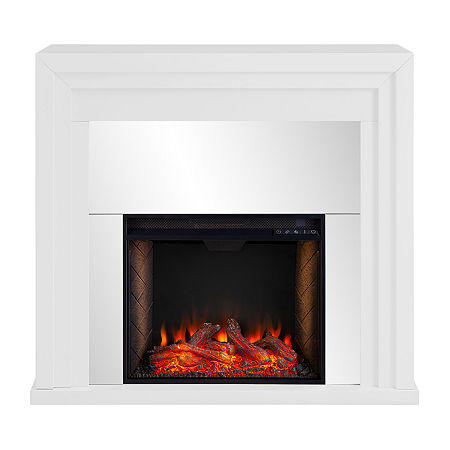 Southern Enterprises Electric Fireplace, One Size , White