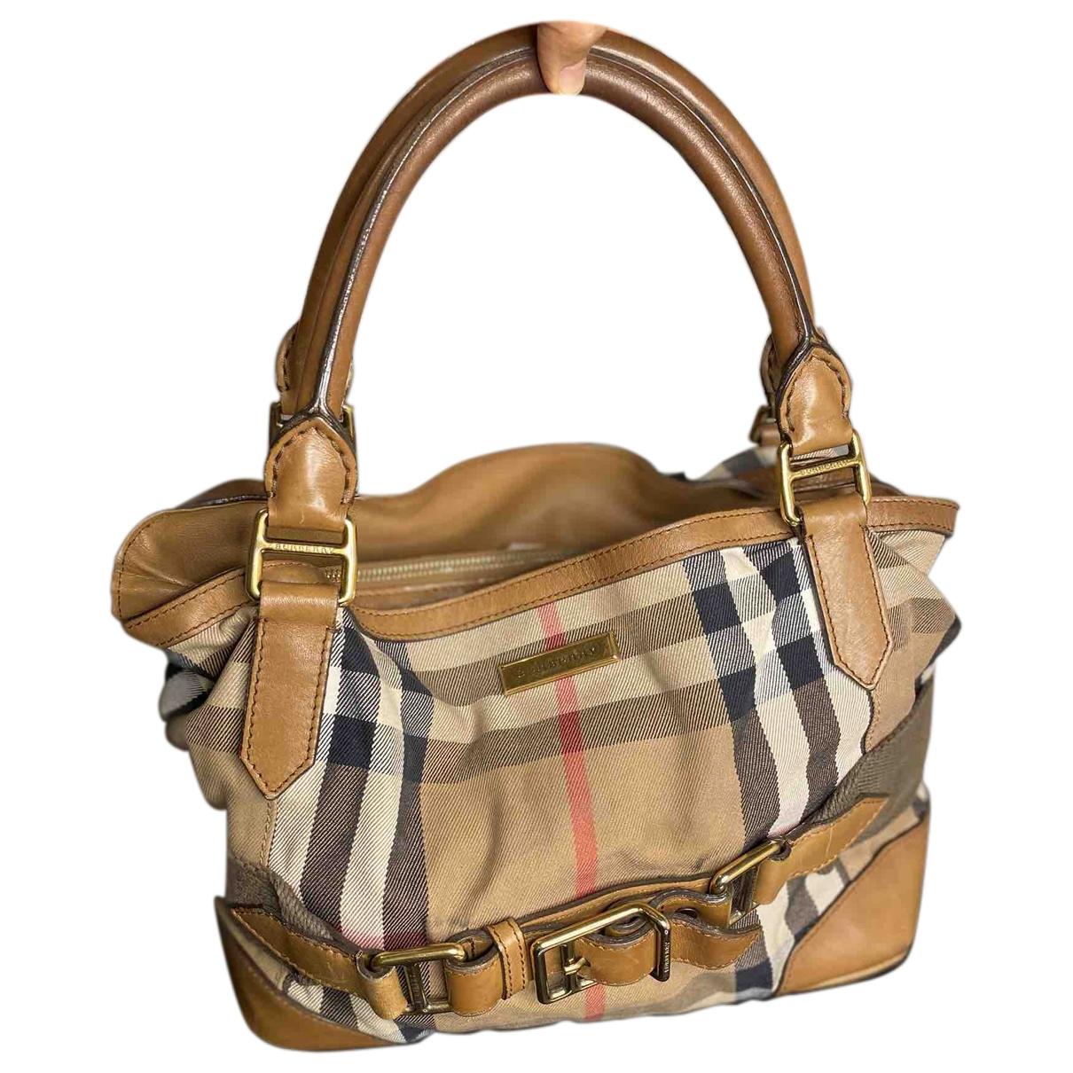 Burberry \N Cloth handbag for Women \N