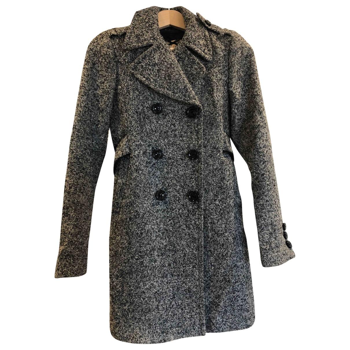 Liu.jo - Manteau   pour femme en laine - gris