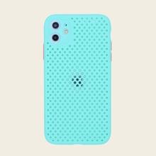 Einfarbige Silikon iPhone Huelle