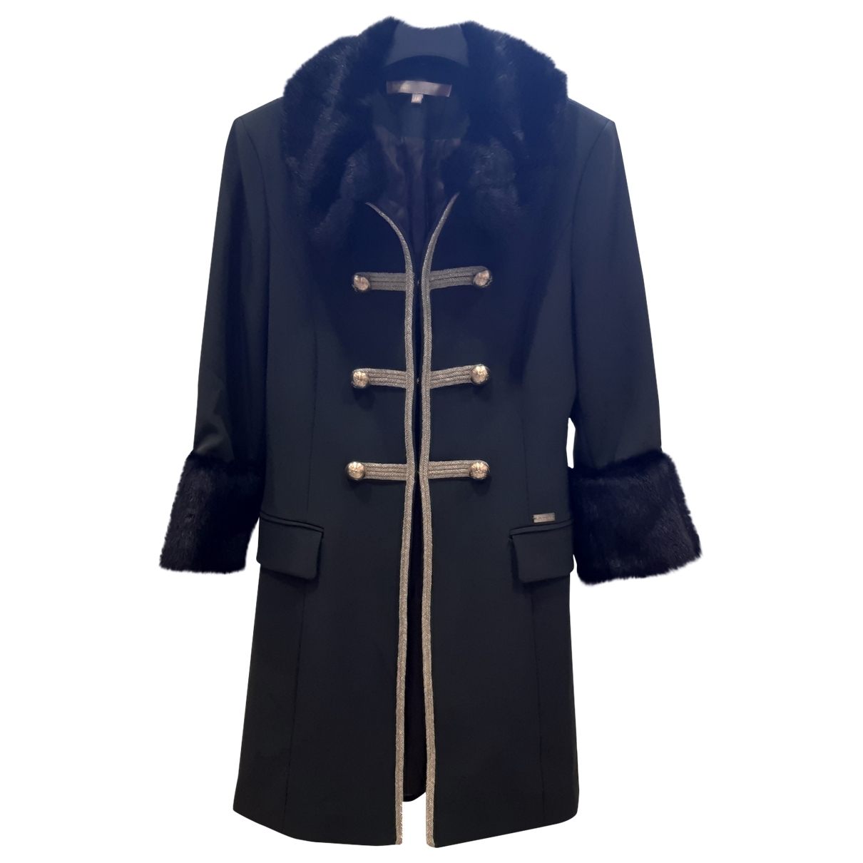Non Signé / Unsigned \N Green coat for Women 42 IT