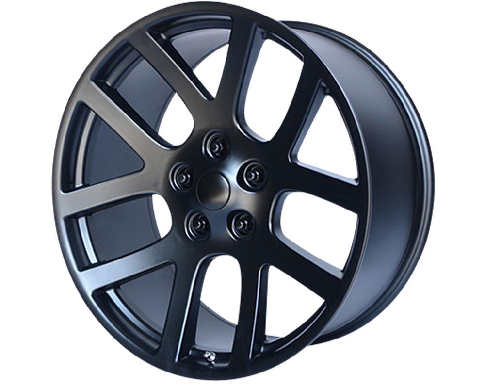 OE Creations 107SB-2218525 PR107 Wheel 22x10 5x5x139.7 +25mm Satin Black