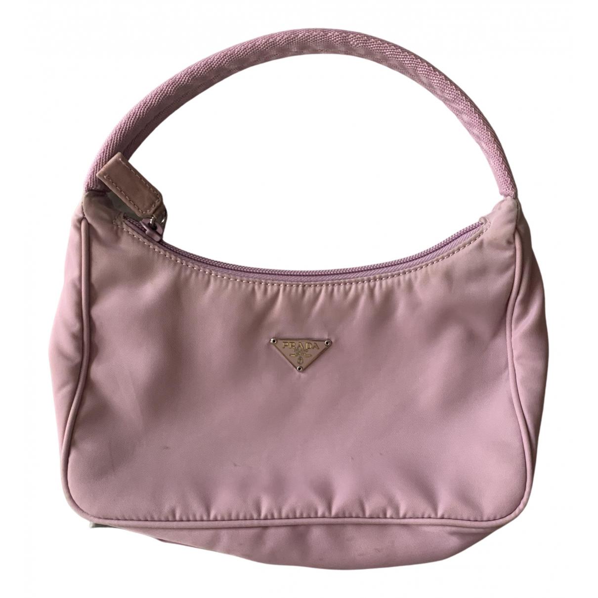 Prada N Pink Cloth handbag for Women N