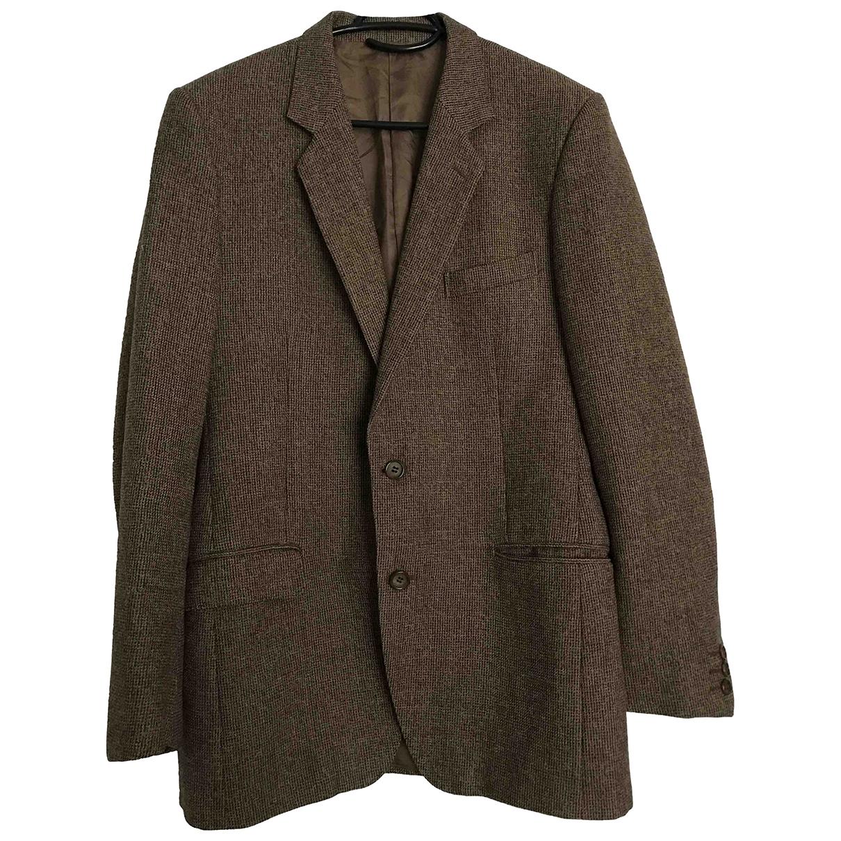 Yves Saint Laurent - Vestes.Blousons   pour homme en laine - marron