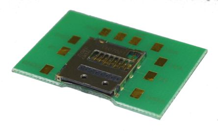 JST 8 Way Micro SD Memory Card Connector With Snap-In Termination (2)