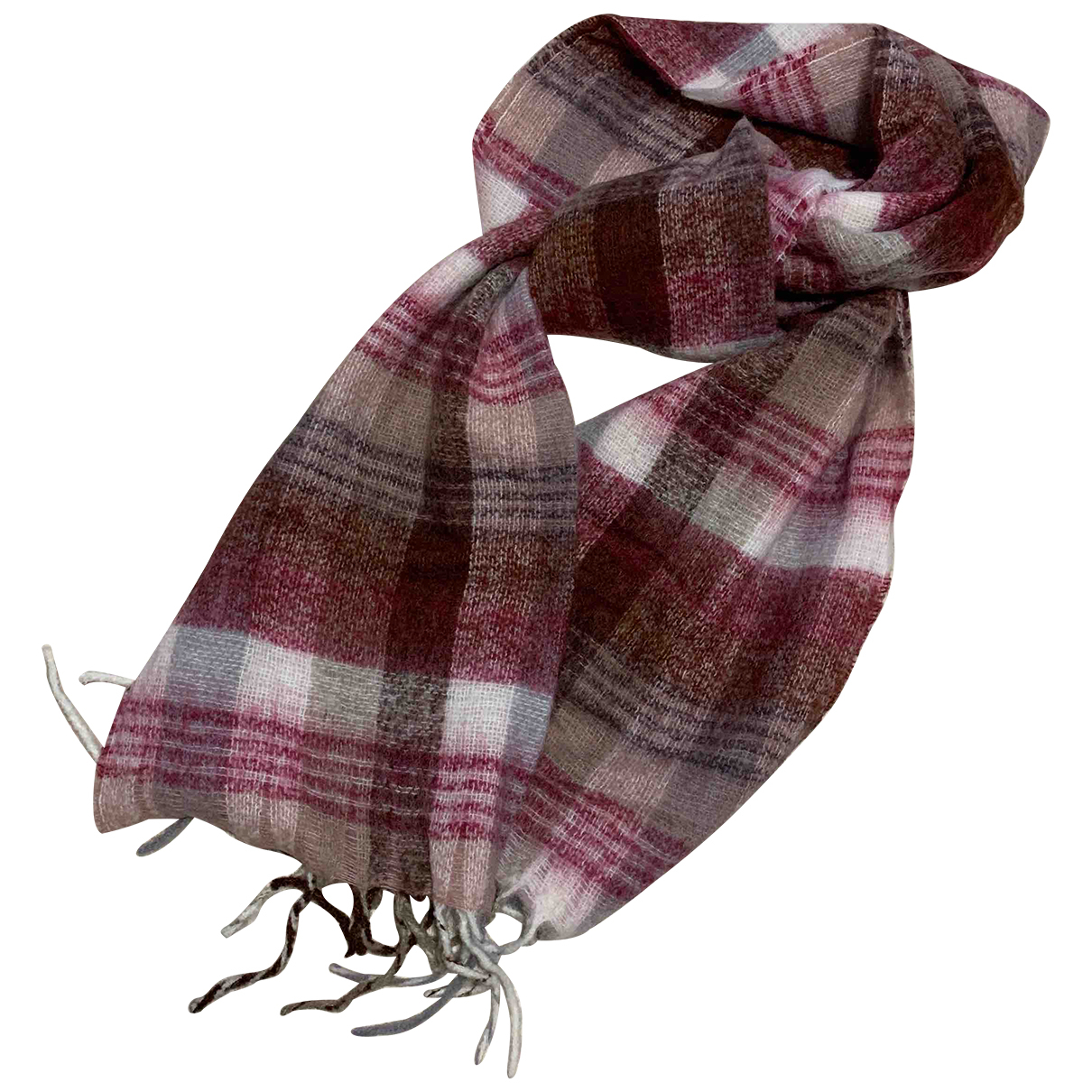 Beck Sonder Gaard N Pink Wool scarf for Women N