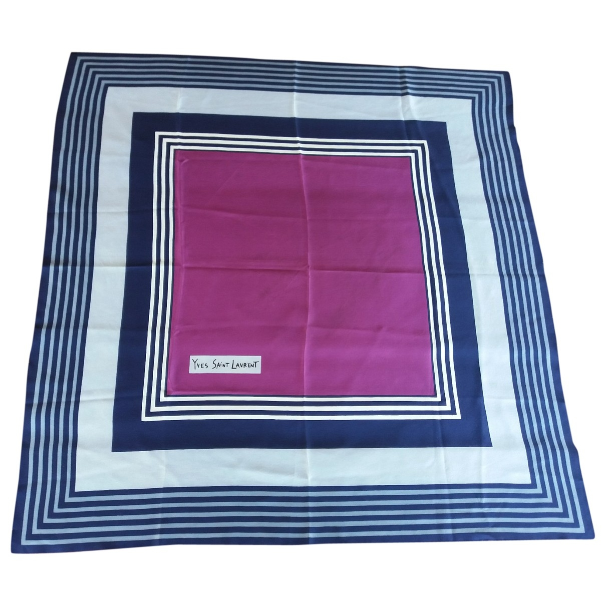 Yves Saint Laurent \N Multicolour Silk Silk handkerchief for Women \N