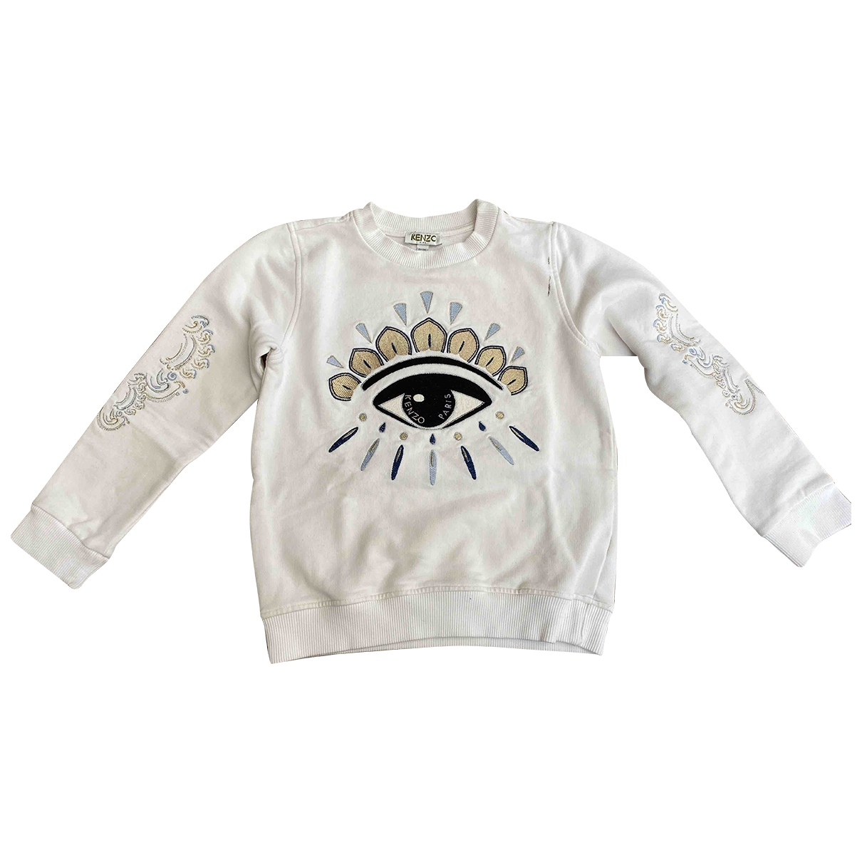 Kenzo \N White Cotton Knitwear for Kids 6 years - up to 114cm FR