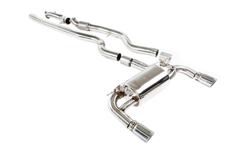IPE Stainless Steel Valvetronic Exhaust System with Dual Polished Tips and Remote BMW 335i E90 | E92 05-11