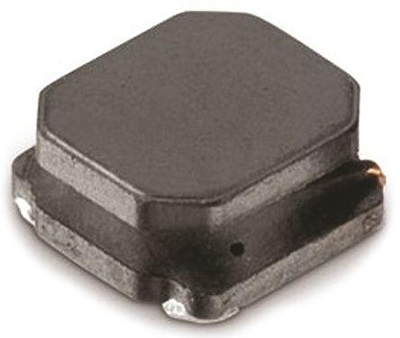 Wurth Elektronik Wurth, WE-LQS, 6045 Shielded Wire-wound SMD Inductor 10 μH ±20% Semi-Shielded 2.45A Idc (5)